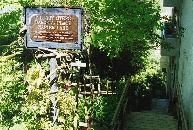 Filbert St. Steps