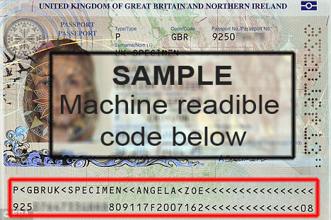 machine-readable passport